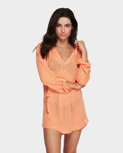 1 Sandy Beach Cover Up Yellow 6571151 Billabong