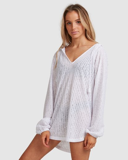 1 SANDY BEACH COVER UP White 6571151 Billabong