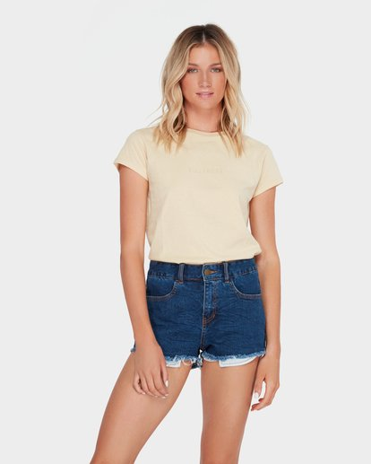 0 MEMORY LANE STRETCH SHORT Blue 6572298 Billabong
