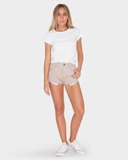 5 MEMORY LANE STRETCH OVERDYE SHORT Grey 6572298X Billabong