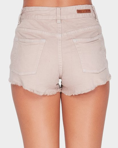 4 MEMORY LANE STRETCH OVERDYE SHORT Grey 6572298X Billabong