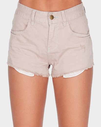 3 MEMORY LANE STRETCH OVERDYE SHORT Grey 6572298X Billabong