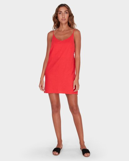 3 SUMMER LOVE DRESS Red 6572476 Billabong