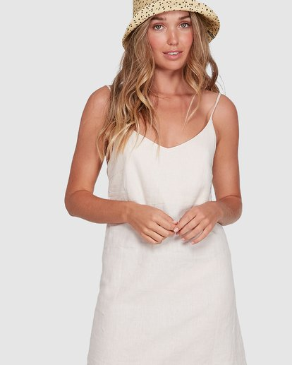 4 Summer Love Dress Beige 6572476 Billabong