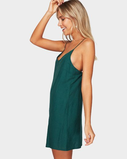 1 Summer Love Dress Green 6572476 Billabong