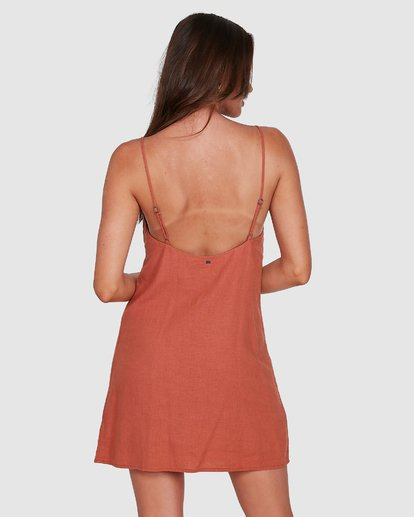 3 Summer Love Dress Brown 6572476 Billabong