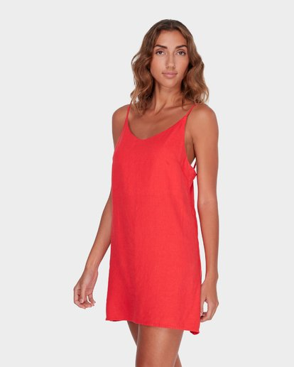 1 SUMMER LOVE DRESS Red 6572476 Billabong