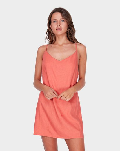 0 Summer Love Dress Brown 6572476 Billabong