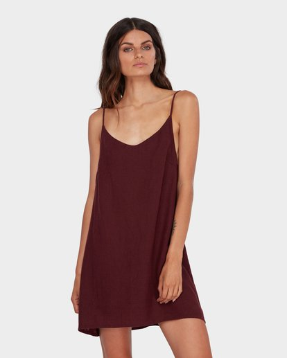 0 Summer Love Dress Red 6572476 Billabong