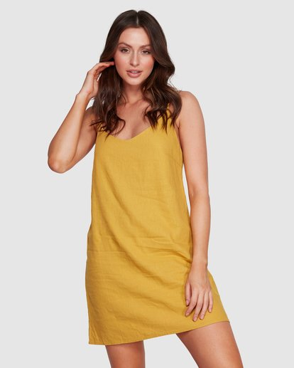 1 Summer Love Dress Orange 6572476 Billabong