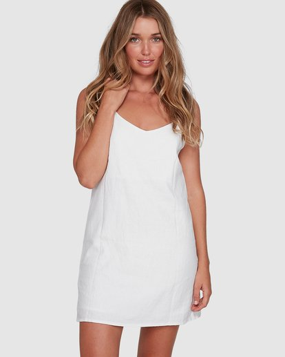 0 Summer Love Dress White 6572476AS Billabong