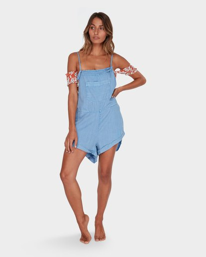 3 Wild Pursuit Overalls Blue 6572501 Billabong