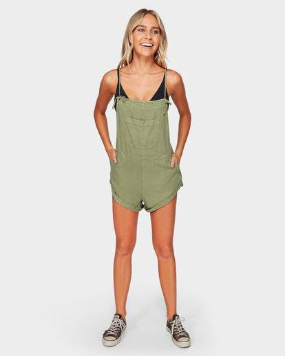 4 WILD PURSUIT JUMPSUIT Green 6572501 Billabong