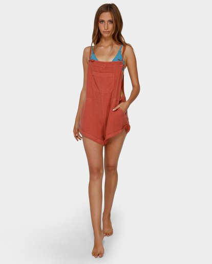 3 Wild Pursuit Jumpsuit Orange 6572501 Billabong