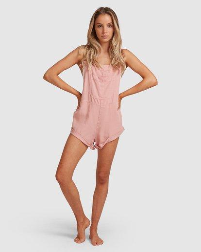 7 Wild Pursuit Jumpsuit Pink 6572501 Billabong