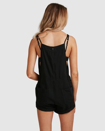 3 Wild Pursuit Jumpsuit Black 6572501 Billabong