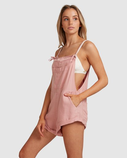 2 Wild Pursuit Jumpsuit Pink 6572501 Billabong