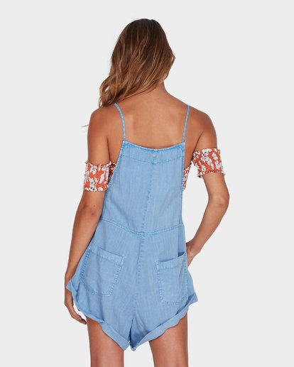 2 Wild Pursuit Overalls Blue 6572501 Billabong