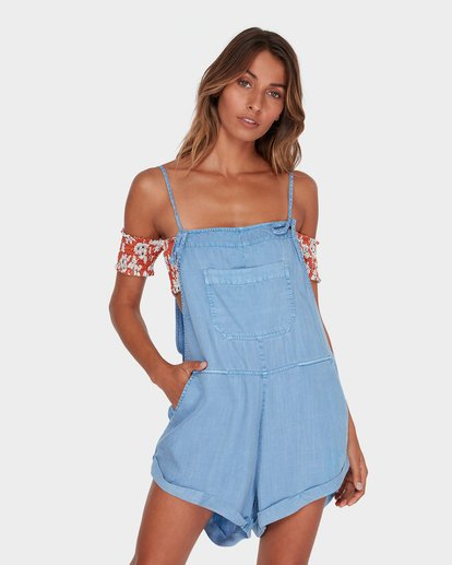 0 Wild Pursuit Overalls Blue 6572501 Billabong