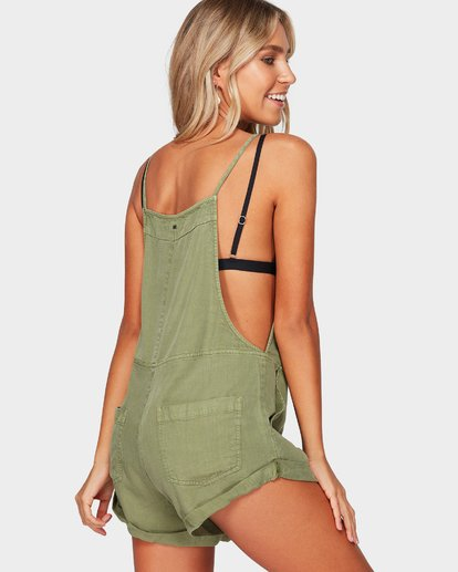 2 WILD PURSUIT JUMPSUIT Green 6572501 Billabong