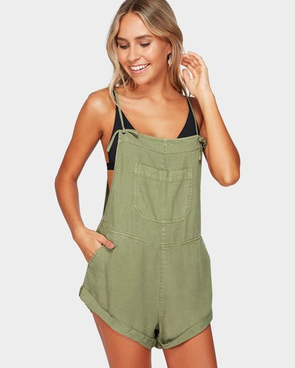 0 WILD PURSUIT JUMPSUIT Green 6572501 Billabong