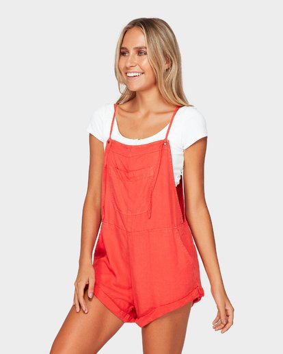 2 WILD PURSUIT OVERALLS Red 6572501 Billabong