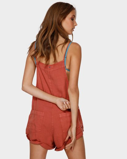 2 Wild Pursuit Jumpsuit Orange 6572501 Billabong