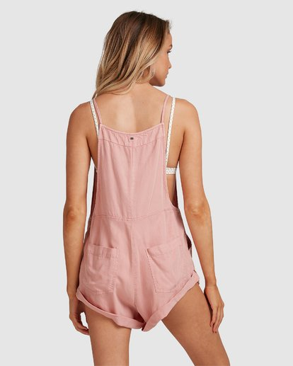 8 Wild Pursuit Jumpsuit Pink 6572501 Billabong