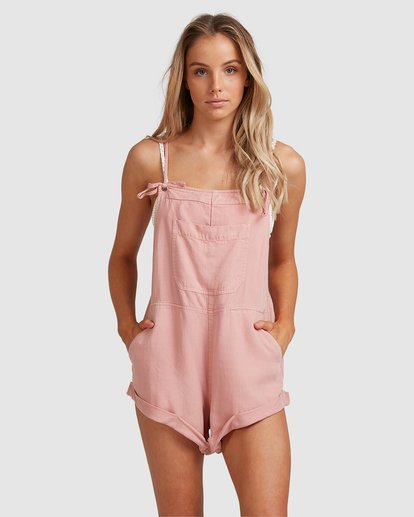 6 Wild Pursuit Jumpsuit Pink 6572501 Billabong