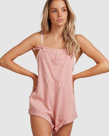 5 Wild Pursuit Jumpsuit Pink 6572501 Billabong