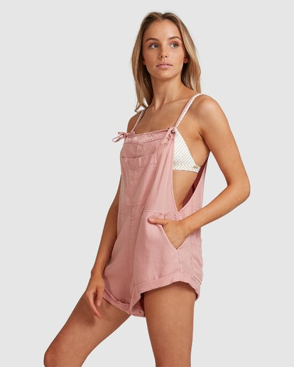 7 Wild Pursuit Jumpsuit Pink 6572501 Billabong
