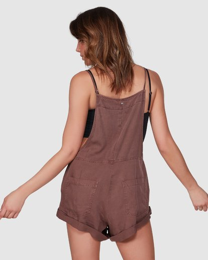 3 Wild Pursuit Jumpsuit Brown 6572501 Billabong