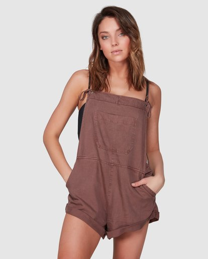 1 Wild Pursuit Jumpsuit Brown 6572501 Billabong