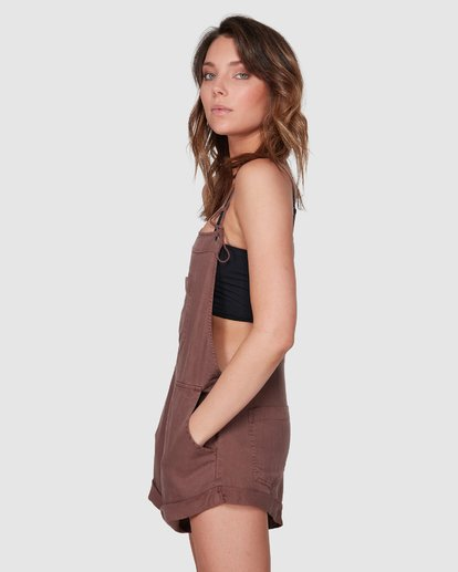 2 Wild Pursuit Jumpsuit Brown 6572501 Billabong