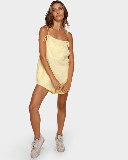 4 WILD PURSUIT OVERALLS Yellow 6572501X Billabong