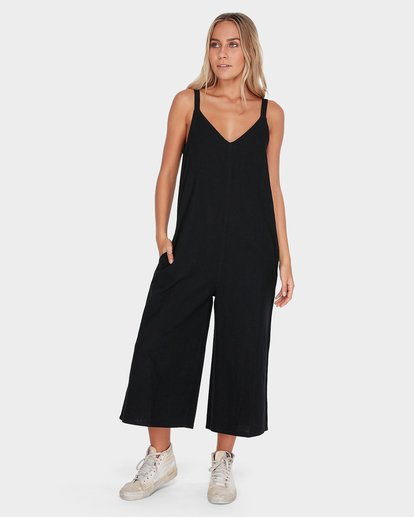 0 Wind Chaser Jumpsuit Black 6572508 Billabong