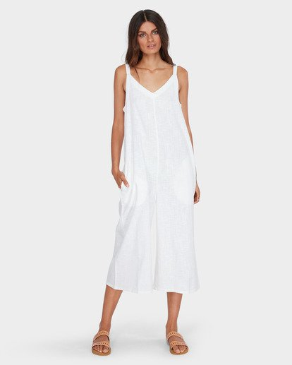 0 Wind Chaser Jumpsuit White 6572508 Billabong