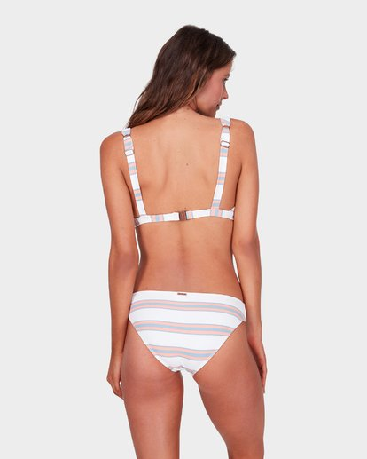 2 SWELLS UP STRIPE D/DD ELONGATED BIKINI TOP  6572636 Billabong
