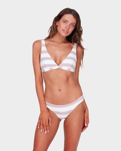 1 SWELLS UP STRIPE D/DD ELONGATED BIKINI TOP  6572636 Billabong
