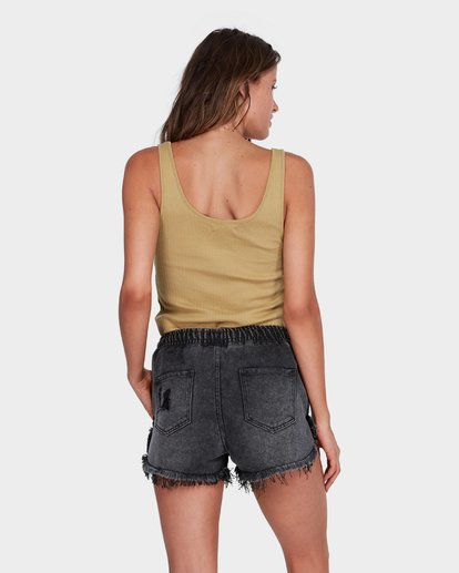2 DRIFTERS FRAYED SHORT Black 6575277 Billabong