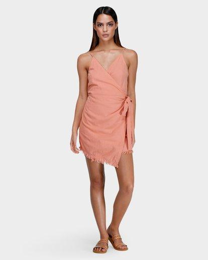3 FIELD DAY DRESS Pink 6575501X Billabong