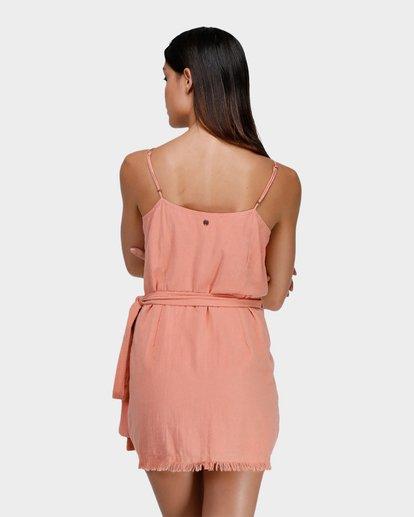 2 FIELD DAY DRESS Pink 6575501X Billabong