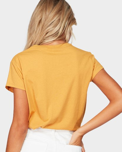 3 Magnetic Tee Yellow 6581010 Billabong