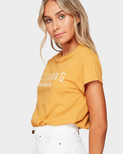 2 Magnetic Tee Yellow 6581010 Billabong