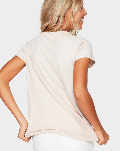 2 Magnetic Tee Beige 6581010 Billabong