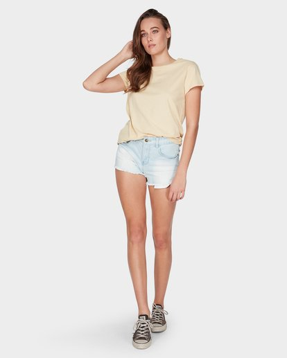 3 CHANGES TEE Beige 6581135 Billabong