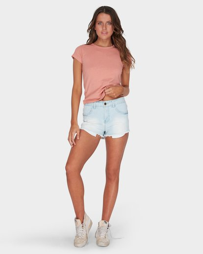 3 WHAT MIGHT BE TEE Brown 6581144 Billabong