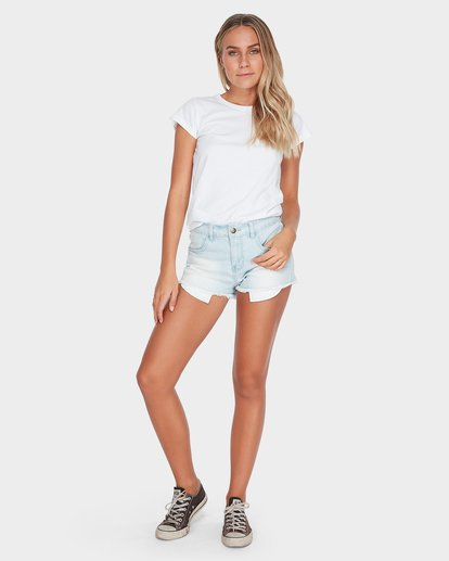 3 WHAT MIGHT BE TEE White 6581144 Billabong