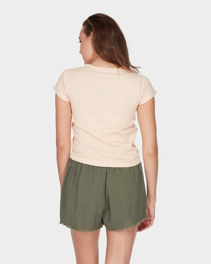 2 WHAT MIGHT BE TEE Beige 6581144 Billabong