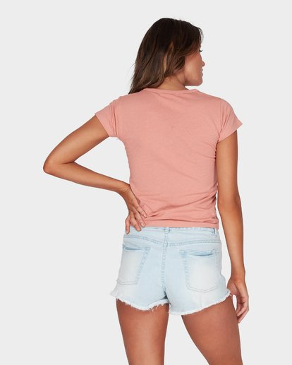 2 WHAT MIGHT BE TEE Brown 6581144 Billabong